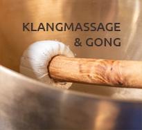 Klangmassage und Gong